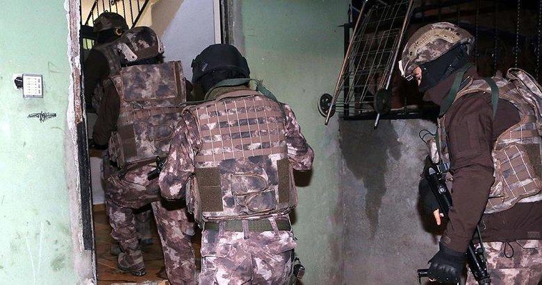 Denizlide terör operasyonu: 1 gözaltı