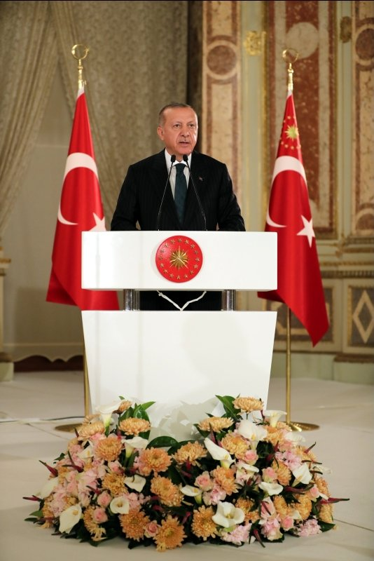 Başkan Erdoğan'ın iftar davetine ünlü akını