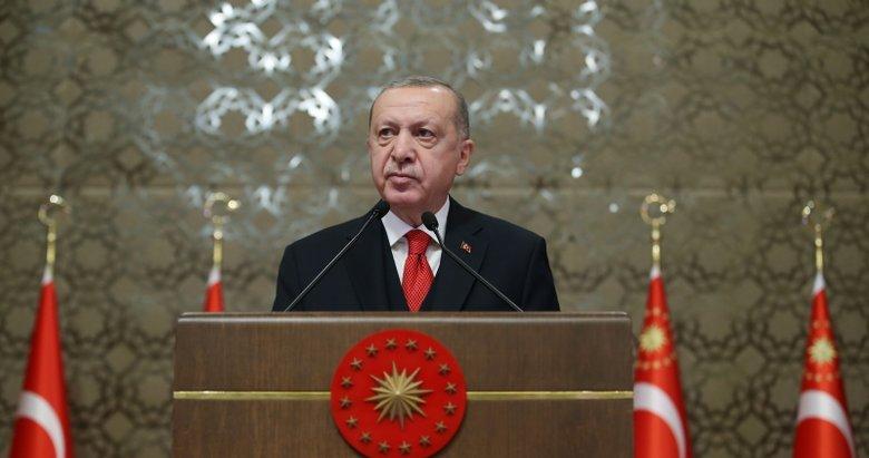 Başkan Erdoğan'a minik Sena'dan sevgi dolu mektup