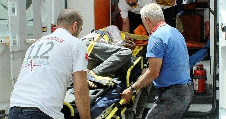 Görme engelli yaşlı adamın feci ölümü