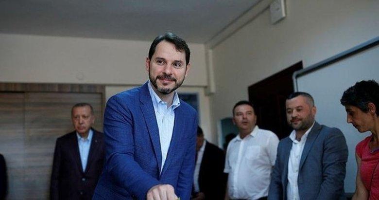 Hazine ve Maliye Bakanı Berat Albayrak'tan seçim mesajı