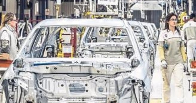 Otomotivde üretim ve ihracat yüzde 14 arttı