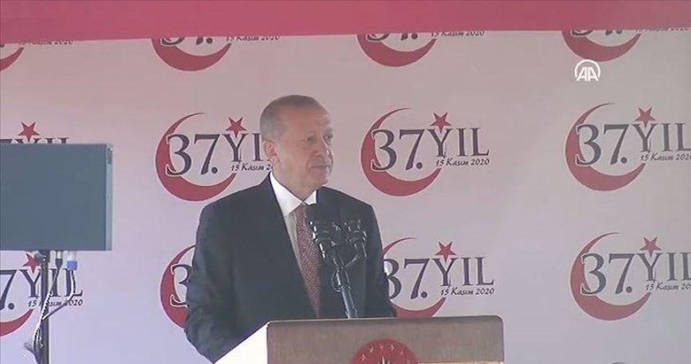 Son dakika: Başkan Erdoğan'dan KKTC'de önemli açıklamalar