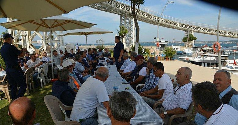 Sahil Güvenlik'ten balıkçılara göçmen kaçakçılığı uyarısı