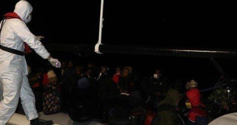 Türk kara sularına itilen 39 düzensiz göçmen Balıkesir'de kurtarıldı