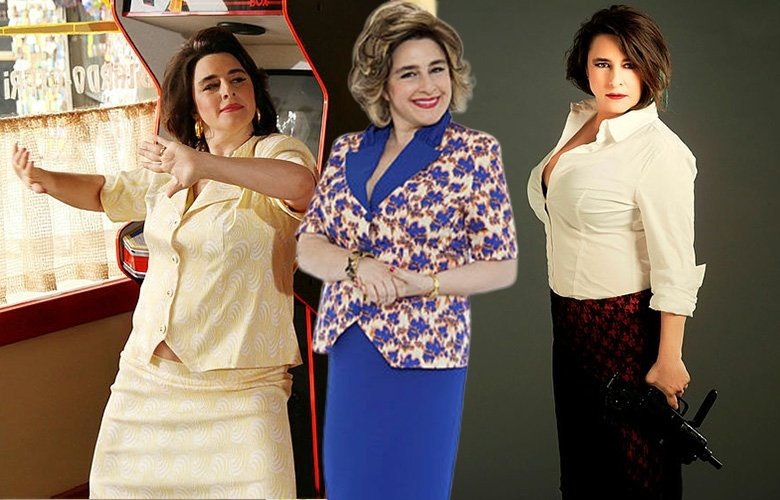 Doksanlar dizisinin Şükran'ı Esra Dermancıoğlu kızıyla hayrete düşürdü! Görenler ayırt edemedi