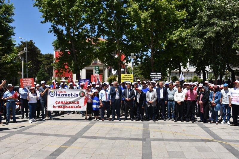 CHP'li Bayramiç Belediyesi'nden işçi kıyımı