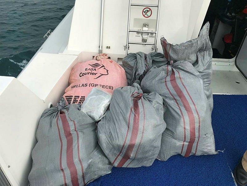 Denizde nefes kesen uyuşturucu operasyonu