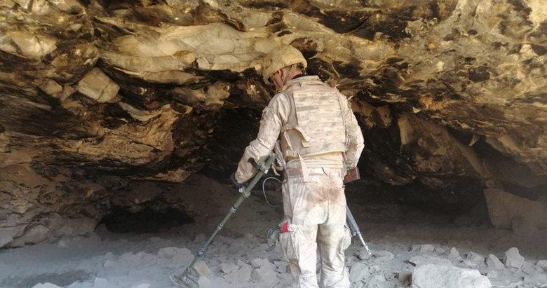 'Kapan-4 Mava'da 41 sığınak ve mağara imha edildi