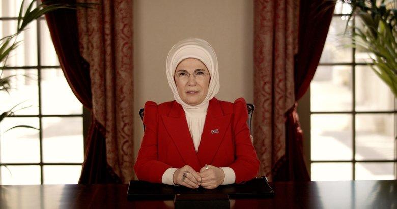 Emine Erdoğan: '2023 için atılan adımların gücü kadınlardan geliyor'
