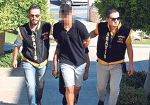 Baba katili genç tutuklandı