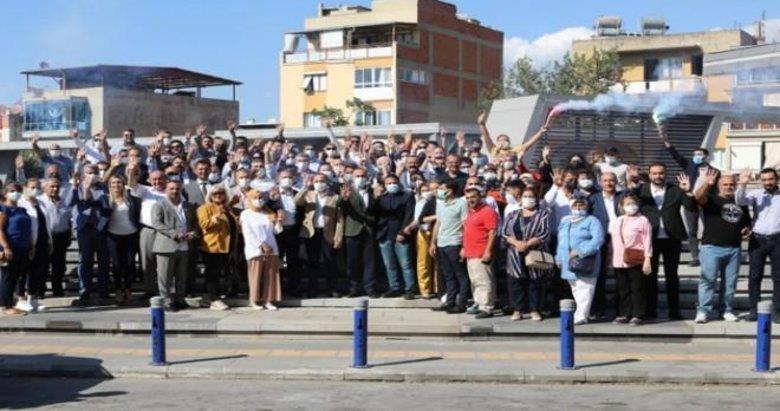 AK Parti'den 200 kişiyle Karabağlar çıkarması