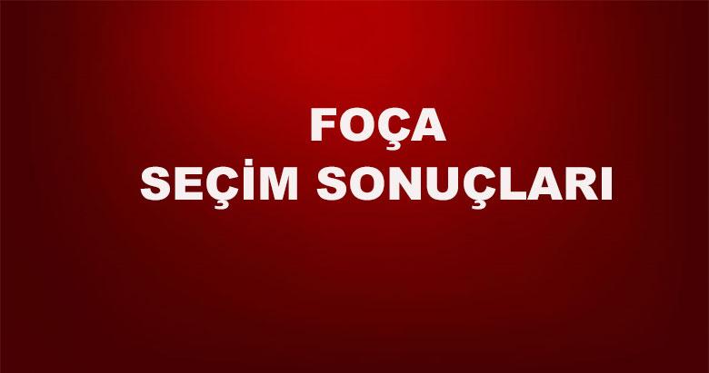 İzmir Foça yerel seçim sonuçları! 31 Mart yerel seçimlerinde Foça'da hangi aday önde?
