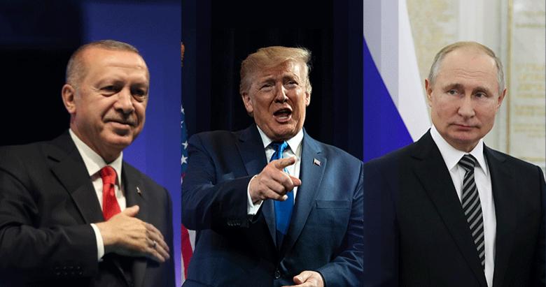 Siyonistlere karşı Erdoğan-Trump- Putin ittifakı var