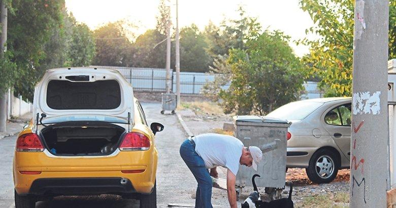 Taksiciden insanlık dersi