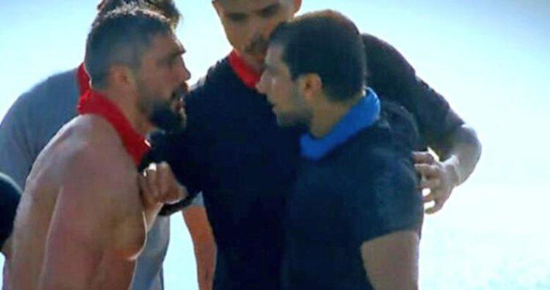 Survivor'da ilk kavga! Yasin ile Parviz Abdullayev birbirine girdi