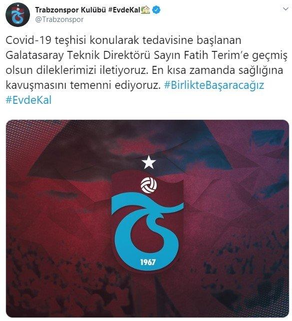 Futbol dünyasından Fatih Terim'e destek mesajları
