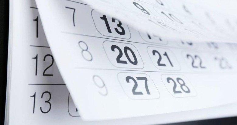 2020'de kaç gün resmi tatil var? 2020 yılı resmi tatiller hangi günlerde?