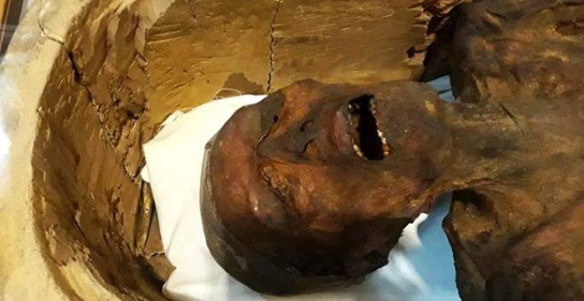Çığlık atan mumyanın sırrı! İşte 3 bin yıllık gizem...