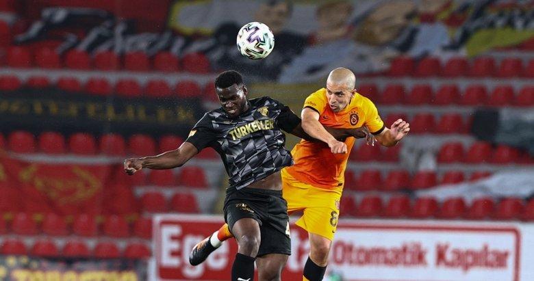Göztepe: 1 - Galatasaray: 3 MAÇ SONUCU