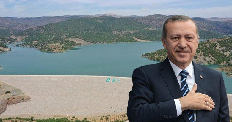 Yukarı Afrin Barajı açıldı! Başkan Erdoğan'dan törende önemli açıklamalar