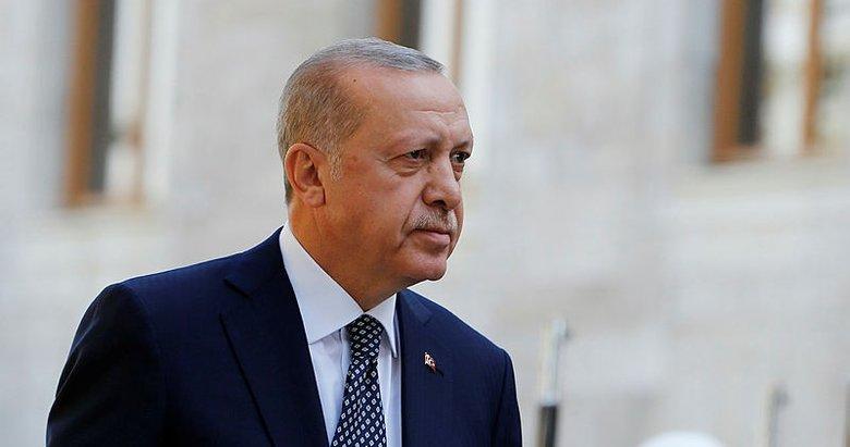 Başkan Erdoğan'dan Beşiktaş'a tebrik