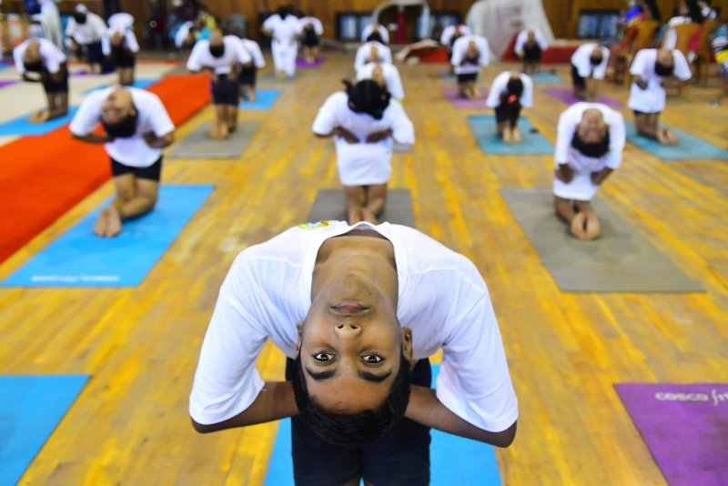Dünya genelinde Yoga Günü böyle kutlandı