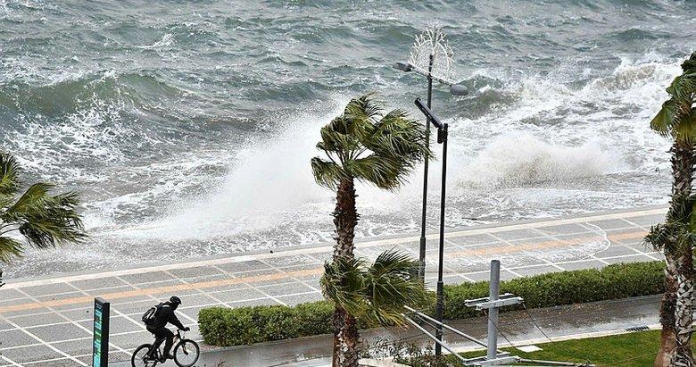 Ege'nin kıyı şeridinde kuvvetli yağış beleniyor