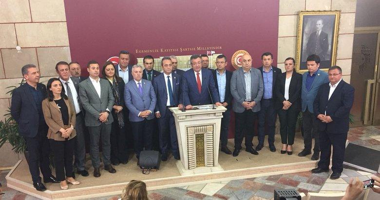 CHP'de 'İYİ Parti' istifaları!