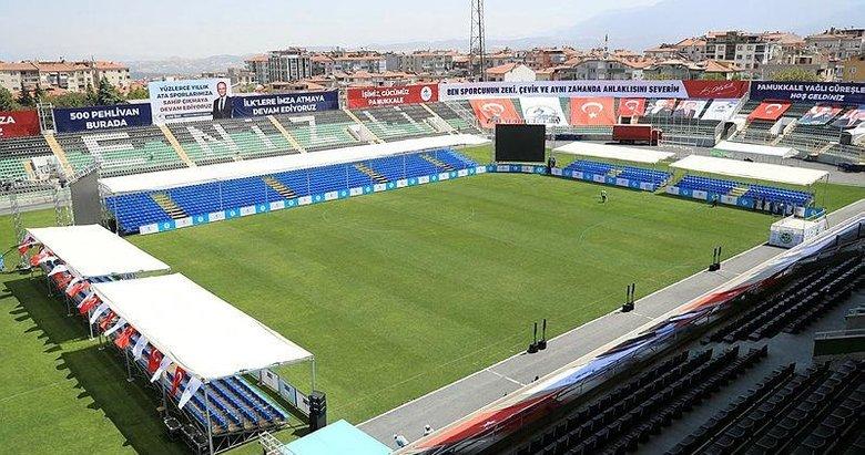 Denizli Atatürk Stadyumu bir ilke ev sahipliği yapacak