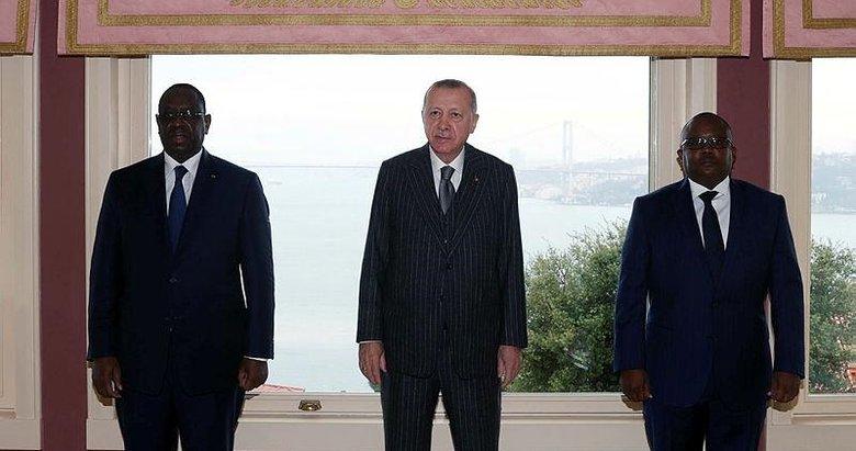 Başkan Erdoğan'dan Afrika diplomasisi