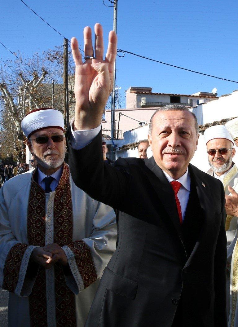 Gümülcine'de 'Erdoğan' coşkusu