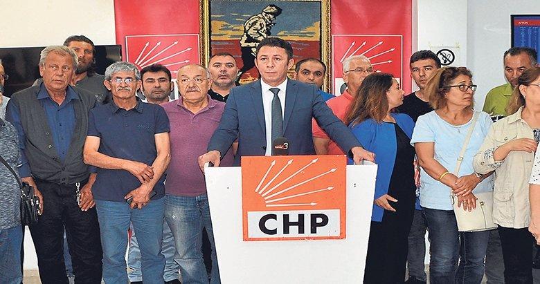 CHP'de tepki istifaları