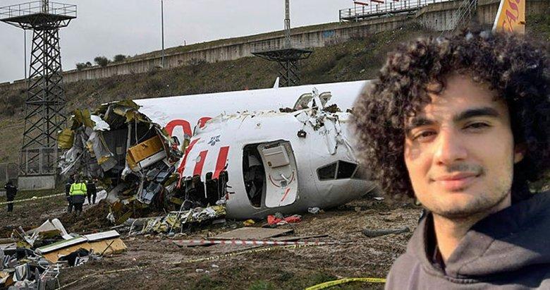 Sabiha Gökçen'deki uçak kazasından yaralı kurtulan Aydınlı öğrenci korkunç anları anlattı