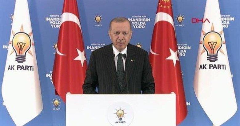 Başkan Erdoğan'dan İl Gençlik Kolları 6. Olağan Kongreleri'nde çarpıcı mesajlar