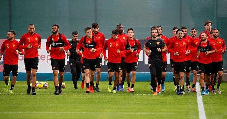 Göztepe'de, Yeni Malatyaspor maçı hazırlıkları