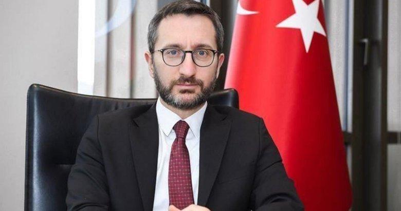 İletişim Başkanı Fahrettin Altun'dan Türkiye'nin yardımlarına ilişkin açıklama