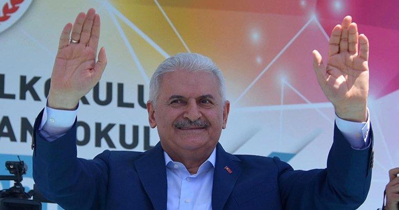 Başbakan Yıldırım, 11 Haziran'da Denizli ve Uşak'ta