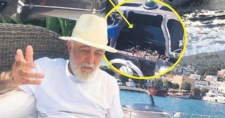 Jet Ski'li soyguncuların son mağduru iş adamı Sinan Vardar oldu