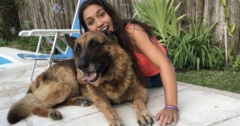 Köpeği ile fotoğraf çektirmek isterken hayatının şokunu yaşadı!