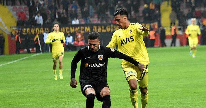 Kayserispor 0 - 0 Fenerbahçe | MAÇ SONUCU | MAÇ ÖZETİ