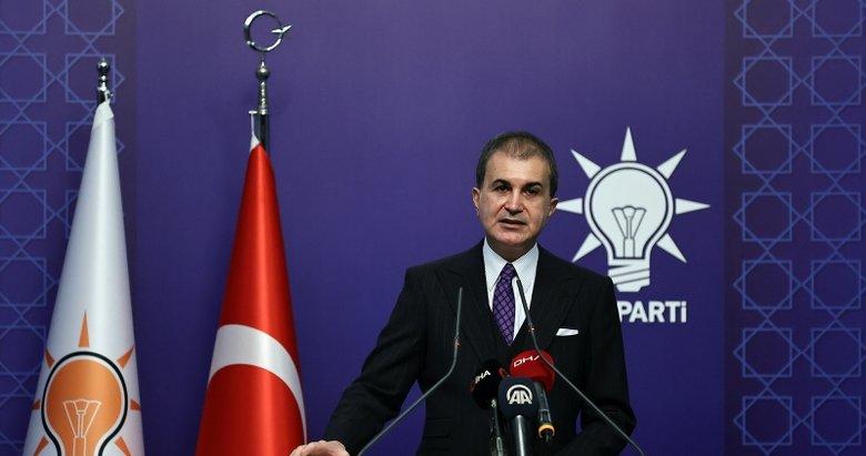 Son dakika: AK Parti MYK sonrası Ömer Çelik'ten önemli açıklamalar