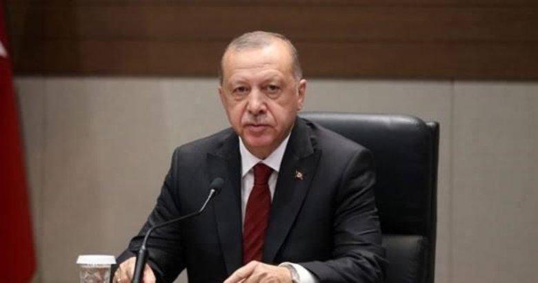 Başkan Erdoğan şehit ailelerine taziyelerini iletti