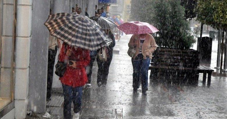 Ege'de anlık şiddetli yağışlar devam edecek