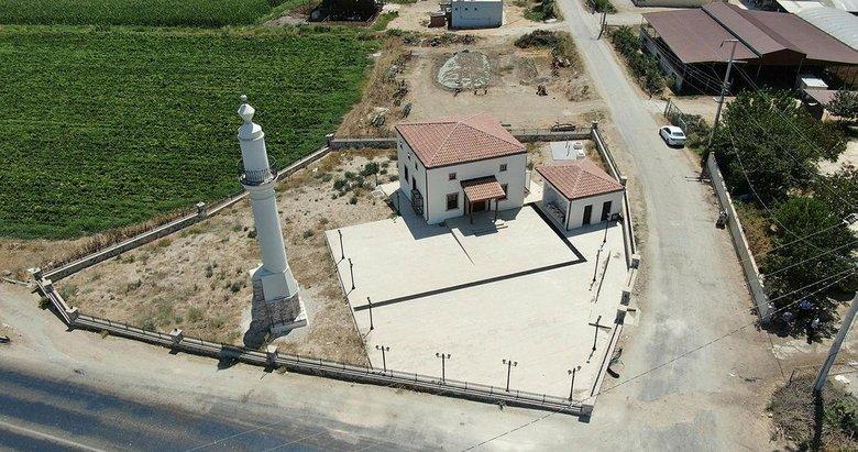 İzmir Tire'deki 'yalnız minare' camisine kavuştu