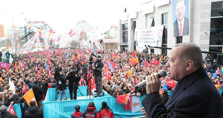 Başkan Erdoğan'dan Ardahan'da önemli açıklamalar