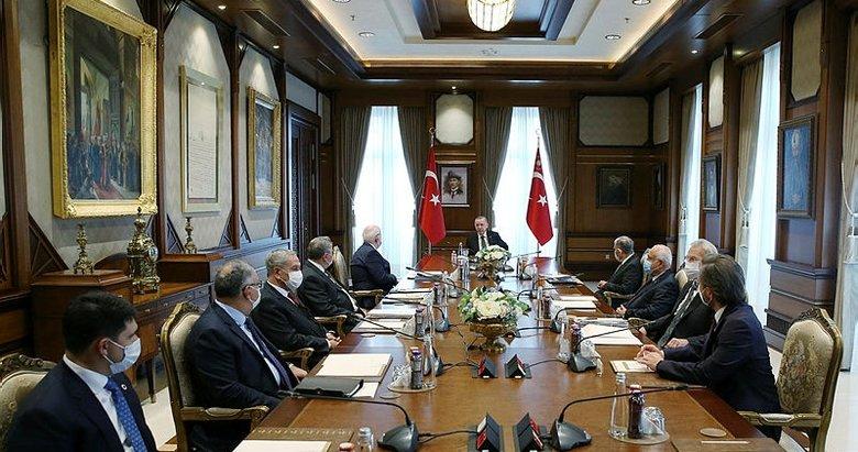 Cumhurbaşkanlığı Yüksek İstişare Kurulu, Başkan Erdoğan başkanlığında toplandı