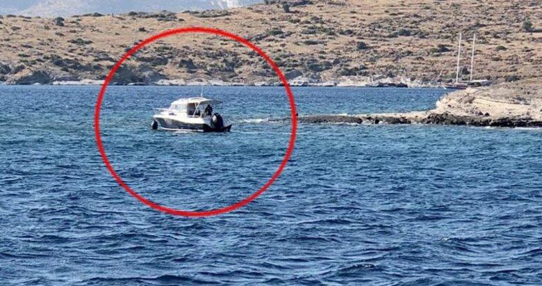 Akvaryum Koyu'nda kayalıklara oturan teknedeki 7 kişi kurtarıldı
