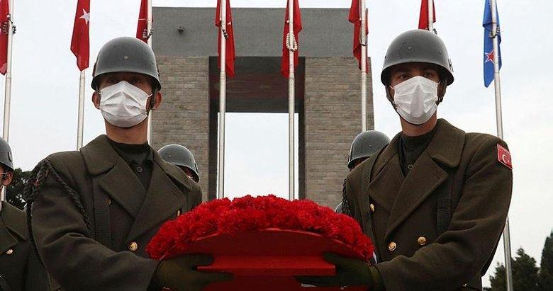 Çanakkale Kara Savaşları'nın 106'ncı yılı törenle anıldı