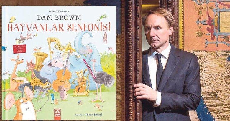 Dan Brown ilk sesli ve resimli çocuk kitabıyla canlı yayında